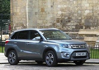 Suzuki Vitara - Image: Suzuki Vitara 1586cc registered September 2015 at east end