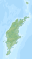 Sweden Gotland relief location map.png