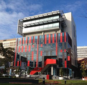 Swinburne University of Technology - Image: Swinburne University, The George Building, Hawthorn campus, 2013