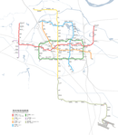 System Map of Zhengzhou Metro (with realistic scale).png