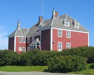 Brønnøysund - Tårnskolen, the old school.