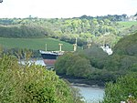 TAMAMIMA (EX CRESTBANK) Laid up in the River Fal.