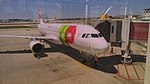 TAP airplane at Lisbon airport.jpg