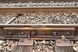 Railroad Track Maintenance Tax Credit - Image: THORN 155lb PS jointed joint