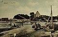 TLA 1465 1 4291 Praam Pirita jõel, Pirita kloostri varemed 1909.jpg