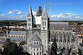 TOURNAI cathédrale Notre Dame vue du haut du beffroi.jpg