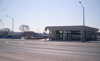 Line 4 Sheppard - Bessarion station in 2008