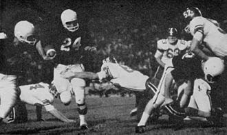 1958 Texas Tech Red Raiders football team - 1958 Texas Tech football team in action against Texas A&M