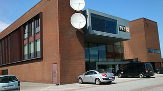 TV 2/Østjylland - The headquarters of TV2 Østjylland in Skejby.