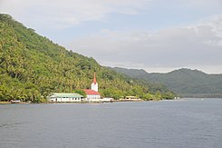 Tahaa, church at Tiva on West side - panoramio.jpg