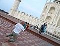 Taj Mahal, Agra views from around (77).JPG