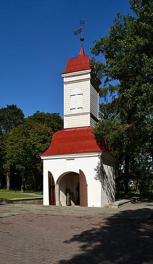 Kalamaja cemetery - Image: Tallinn, Kalamaja kalmistu värav kellatorn, 1780 (2)