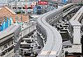 Tama toshi monorail switch.JPG