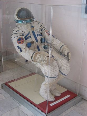 Arnaldo Tamayo Méndez - Arnaldo Tamayo's space suit, on display at Museo de la Revolución, Havana, Cuba