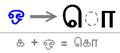 Tamil vowel marker o.PNG