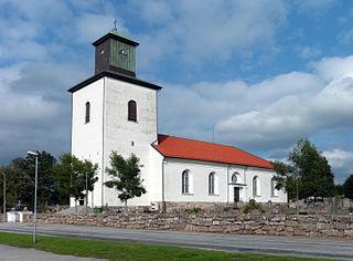 Tanumshede Place in Bohuslän, Sweden