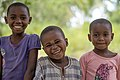 Tanzanian children face impression by Rasheedhrasheed.jpg