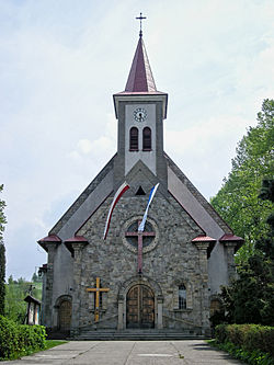 Targanice church