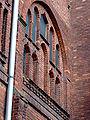 Tarnów, ulica Krakowska, kostel, detail okna II.JPG