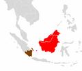 Tarsius bancanus range map.png