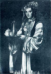 Tatar woman, 18th century