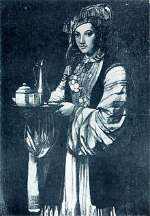 Tatar woman XVIII century.jpg