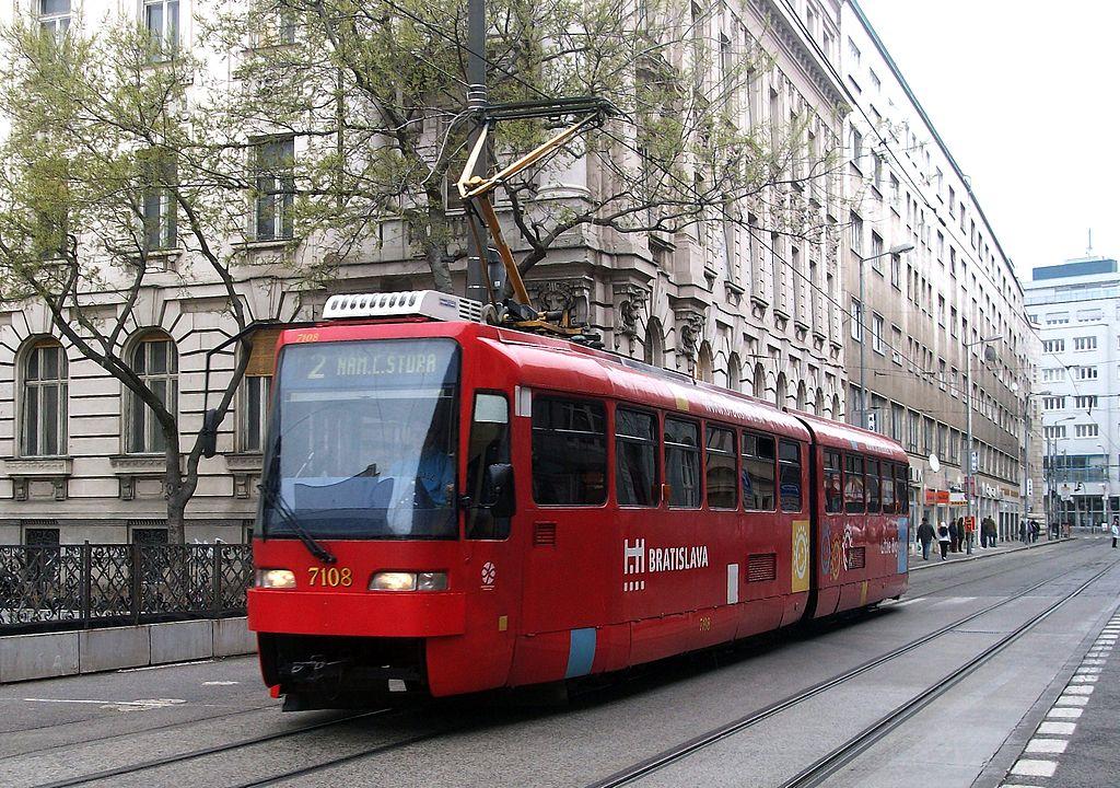 Pratique à Bratislava : Tramway et transport en commun à Bratislava - Photo Kevin.B