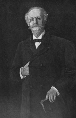 Tauchnitz publishers - Christian Karl Bernhard von Tauchnitz. from a portrait by Vilma Lwoff-Parlaghy