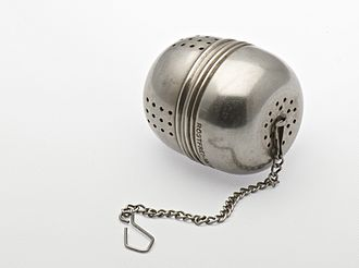 Infuser - A stainless tea infuser ball