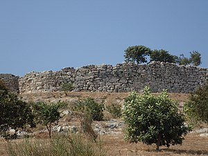Dymaean Wall - Northern wall