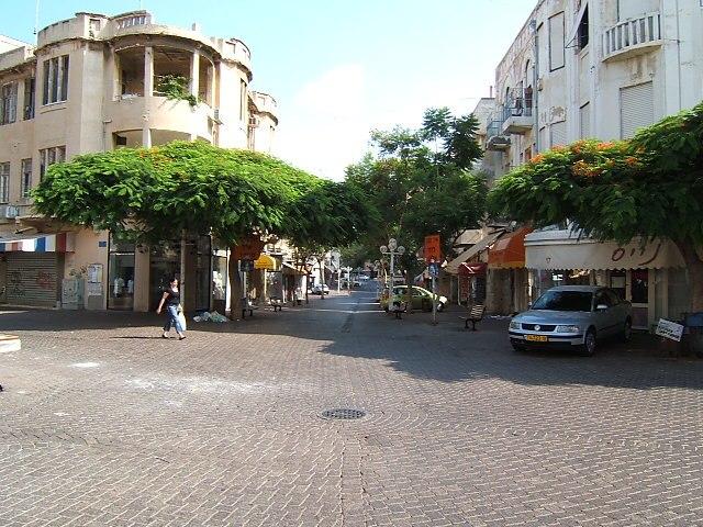 Tel Aviv Nachalat Binyamin street