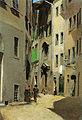 Telemaco Signorini, Via Torta, Firenze, 1870 circa 16,6x11,3cm.jpg