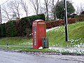 Telephone box, Charminster - geograph.org.uk - 1158674.jpg