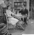 Televisieoperette Mijn zusje en ik . Sigrid Koetse en Paul Cammermans, Bestanddeelnr 913-3568.jpg