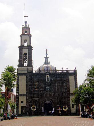 Tultepec - The Nuesta Señora de Loreto Church in the early 2010s