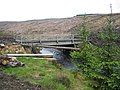 Temporary bridge, Lewis Burn - geograph.org.uk - 1320529.jpg
