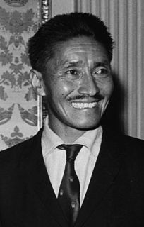 Tenzing Norgay Nepali-Indian Sherpa mountaineer