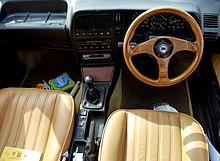 Interi di una Lancia Thema 2.0 i.e. 16V del 1989