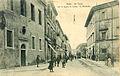 """Terni - Via Tacito con la scuola di musica """"G.Briccialdi"""" 1918.jpg"""