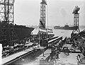 Tewaterlating tanker Kermia door mevrouw dAilly NDSM, Bestanddeelnr 907-0753.jpg