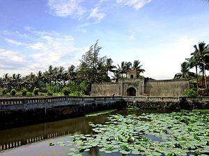 Quảng Trị - The Quảng Trị Citadel built in 1824.