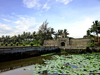 Quảng Trị (town) - The Quảng Trị Citadel built in 1824.
