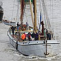 Thames barge parade - about to turn downstream - Reminder 6752.JPG