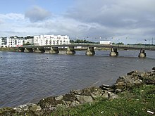 The Barrow Bridge, New Ross - geograph.org.uk - 571170.jpg