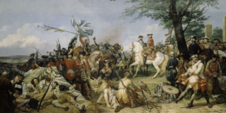Battle of Fontenoy 1745 battle during the War of the Austrian Succession