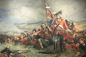 Battle of Fontenoy - The Black Watch at the Battle of Fontenoy by William Skeoch Cumming