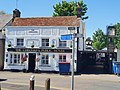 The Chequers pub, Old Harlow, May 2021.jpg