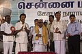 The Chief Minister of Tamil Nadu, Dr. M Karunanidhi inaugurating the flyover at G N Chetty Road – Thirumalai Road Junction, in Chennai on December 29, 2008.jpg