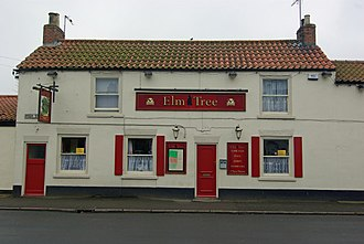 Aldbrough, East Riding of Yorkshire - Image: The Elm Tree, Aldbrough geograph.org.uk 1260500