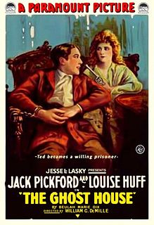 <i>The Ghost House</i> (film) 1917 film by William C. deMille